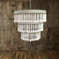 "1 Light Bohemian Elegance Small   26""w x 26""h   $75"