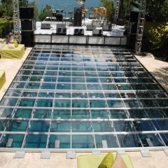 Clear Acrylic Pool Cover