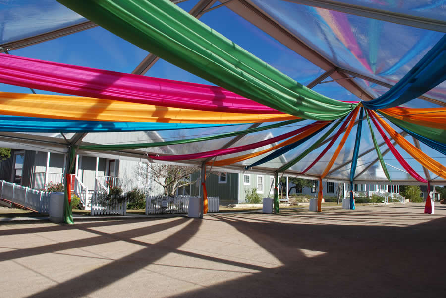 Star Ceiling Treatment & TENT DRAPING - Marquee Event Rentals