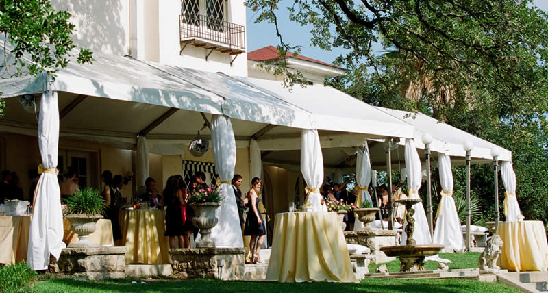 Tent Pole Wrap · Custom Pole Curtain & TENT DRAPING - Marquee Event Rentals