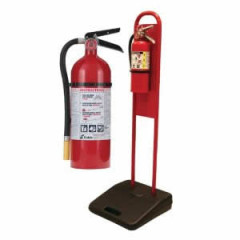 Fire Extinguisher with Stand