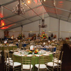 Losberger Tent Interior