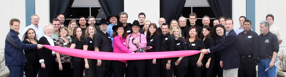 Marquee Ribbon Cutting