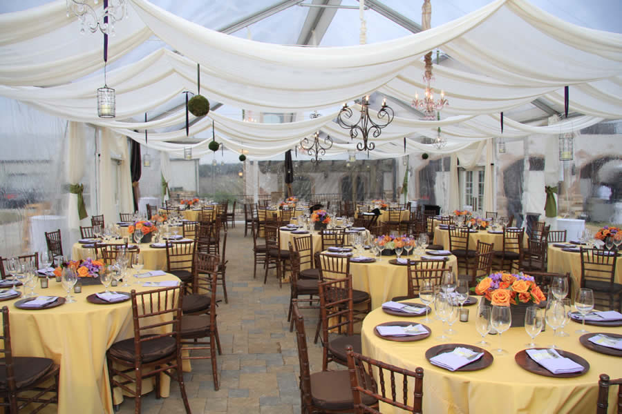 Star Ceiling Treatment & TENT DECOR - Marquee Event Rentals