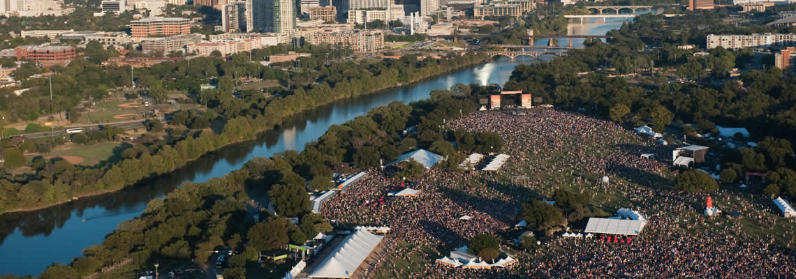 ACL Festival Tents